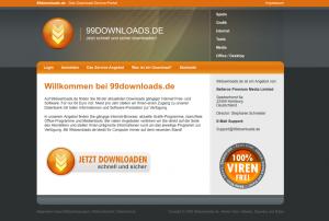 Neuester Preisträger ist die Seite 99downloads.de