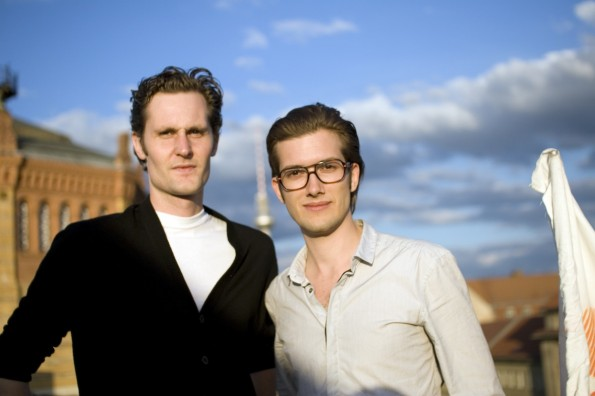 Die SoundCloud-Gründer Alex Ljung und Eric Wahlforss. (Foto: Soundcloud)