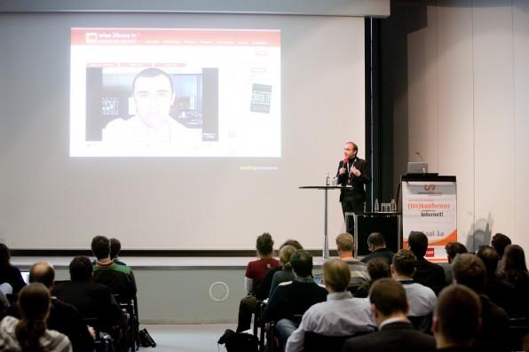 Vortrag von Jochen Krisch auf dem Convention Camp