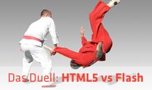 Webentwicklung: HTML5 vs Flash – Wer gewinnt das Duell?