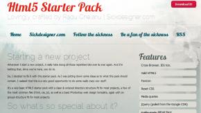 Webentwicklung: HTML5 Starter Pack – Ausgangsbasis für Webprojekte
