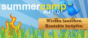 """Neues BarCamp: """"SummerCamp"""" Alfeld – """"Wissen tauschen. Kontakte knüpfen."""""""