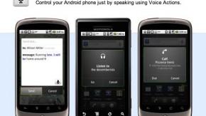 """Sprachsteuerung: Google stellt """"Voice Actions"""" für Android vor"""