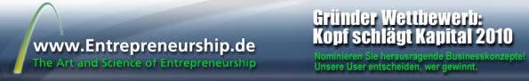 Businessplan Wettbewerb - Kopf schlägt Kapital 2010