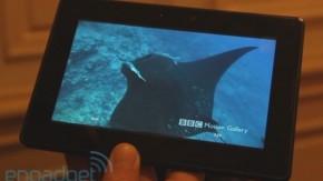 BlackBerry PlayBook schlägt das iPad