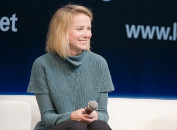 Yahoo-CEO Marissa Mayer ist in Verhandlungen mit Tumblr. (Foto: Yahoo)