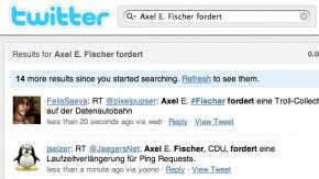 Twitter-Meme – Axel E. Fischer fordert…