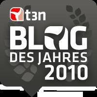 t3n Blog des Jahres 2010