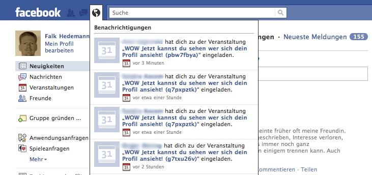 Facebook beiträge können gerade nicht geladen werden