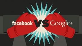 Google+ vs. Facebook – Duell der Unternehmensseiten