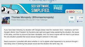 """Google Account -""""Löschung"""": Nutzer hat Daten wieder und erklärt die Sperrung"""