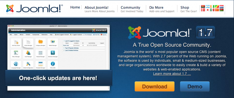 Joomla 1.7 ist da!