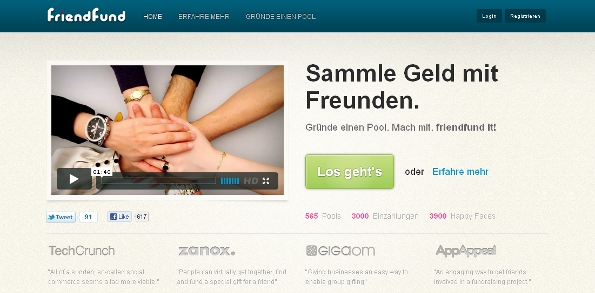 Crowdfunding-Plattform friendfund