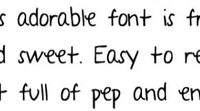 5 moderne Handschriften-Fonts mit Umlauten