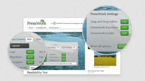 PressWork – WordPress-Themelayout mit WYSIWYG-Editor und HTML5