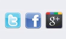 Twitter, Facebook und Google+: Unterschiedliche Konzepte im Überblick