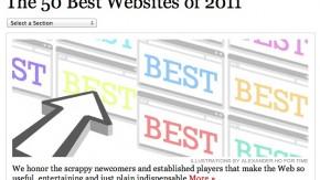 Time Magazine kürt die besten Websites des Jahres