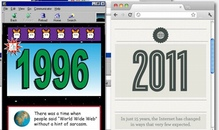 Internet 1996 vs. Internet 2011 [Infografik]