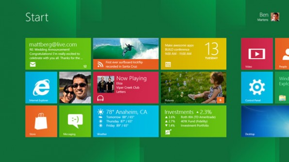 Windows 8 Metro-Stil
