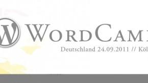 WordCamp Köln 2011: Ein subjektiver Rückblick