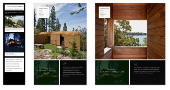 responsive webdesign expl architects