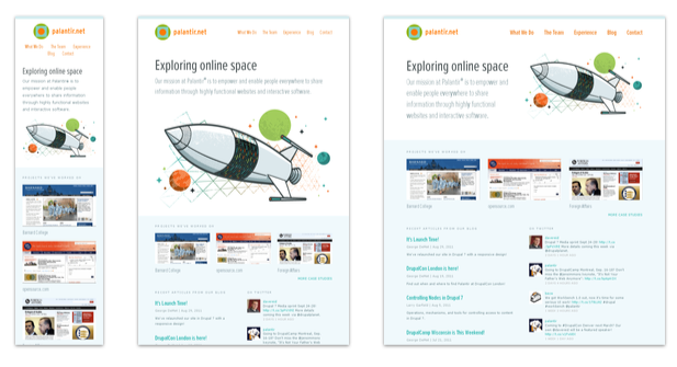 Responsive Webdesign: Ein aufwändigeres Beispiel von Mediaqueri.es