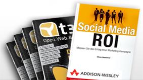 "Aktion: t3n-Abonnement inkl. Buch ""Social Media ROI"""