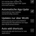 Android Market 3311 auto update
