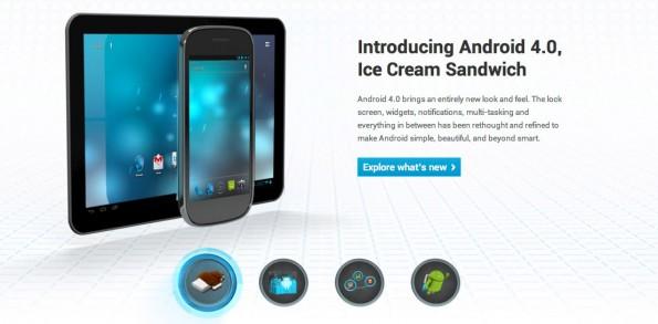 Android.com  595x293 Android.com Relaunch   endlich schön und informativ
