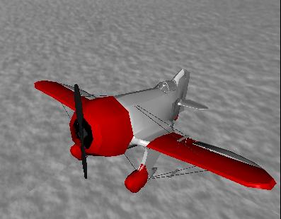 X3Dom - Flugzeug