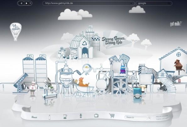 Firefox immersive milk full 595x406 Der Firefox, den es niemals gab [Bildergalerie]