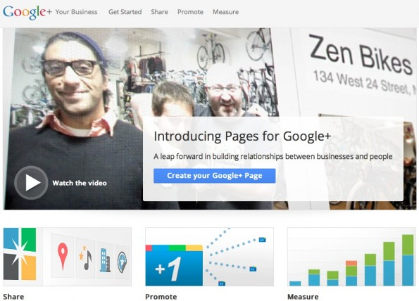 Google+PagesGuide1 595x428 Offizieller Google+ Pages Guide veröffentlicht