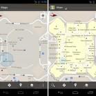 Google Maps 6.0 vorher nachher