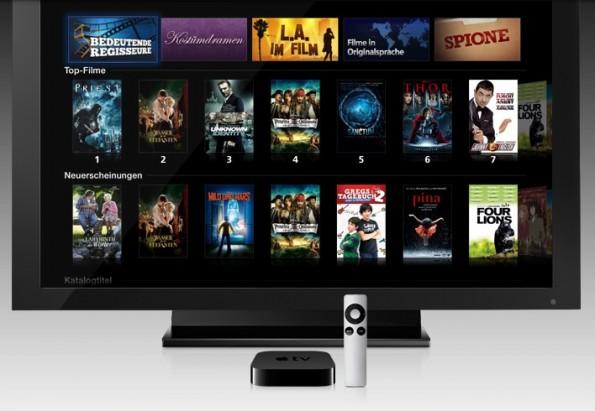Die Apple-TV-Box aus dem Jahr 2012 soll im September komplett überholt erscheinen. (Foto: Apple)