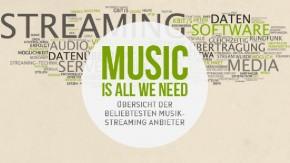 Musik-Streaming-Dienste in Deutschland – Wer bietet was?  [Infografik]
