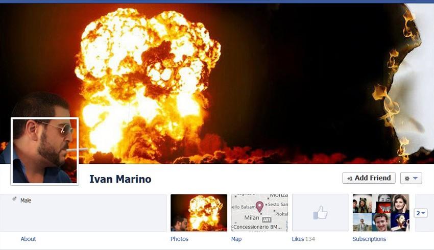 """Mit der Facebook-Chronik wurde der Weg freigemacht für unzählige coole Collagen. (Screenshot: <a href=""""https://www.facebook.com/harlemblogtrotter"""">Ivan Marino - Facebook-Chronik</a>)"""