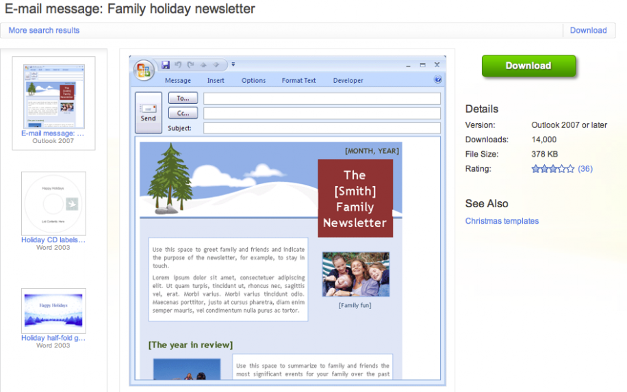 image gallery newsletter templates outlook With newsletter templates for outlook