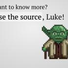 Impress.js Screenshot: use the source, Luke