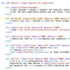 Impress.js Quellcode