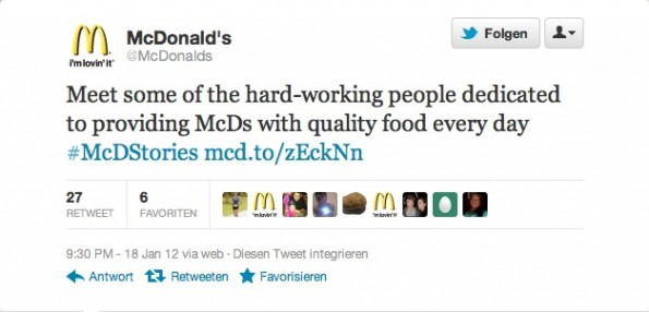 Social Media Desaster McDStories 2
