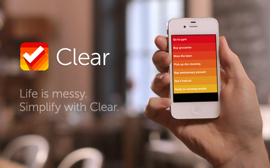 "iPhone Taskmanager ""Clear"" – schicke Wunderlist-Alternative"