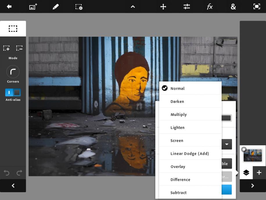 Besonders die Integration von Ebenen in Photoshop Touch dürfte viele Fotografen freuen.
