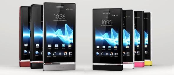 Sony Xperia P Xperia U