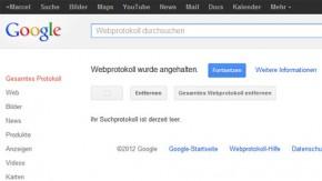 Wie du deine Google History löscht, bevor die neuen Datenschutzregeln greifen