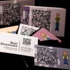 qr-code visitenkarten Bert-Heymans_Pixel Curse