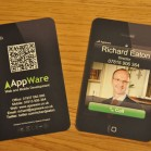 qr-code visitenkarten appware_Naldz Graphics
