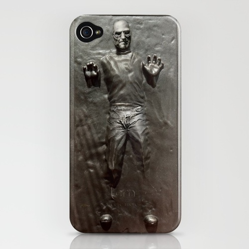 steve jobs carbonite star wars iphone case 291