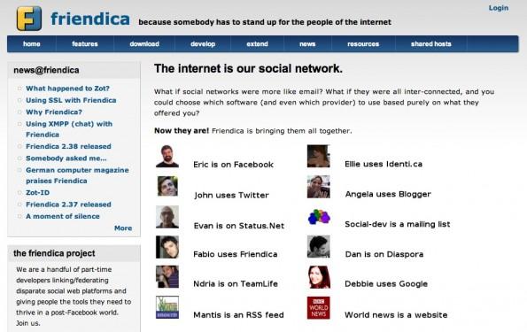 Optich ist Friendica nicht ganz auf der Höhe, dafür kann man verschiedene Kanäle über eine Plattform ansprechen.