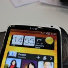 HTC one X Screen closeup