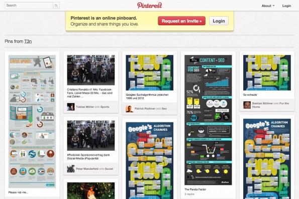 Pinterest Tracking t3n